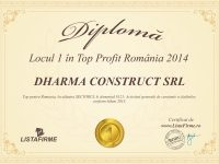 DHARMA CONSTRUCT SRL_2014_page_1